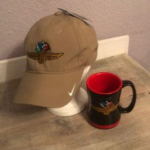 NWT Great Nike Indy Hat & Mug Set